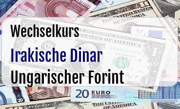 Irakische Dinar in Ungarischer Forint