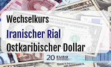 Iranischer Rial in Ostkaribischer Dollar