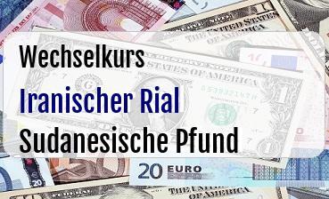 Iranischer Rial in Sudanesische Pfund