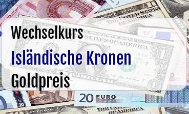 Isländische Kronen in Goldpreis
