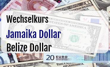 Jamaika Dollar in Belize Dollar