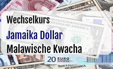Jamaika Dollar in Malawische Kwacha