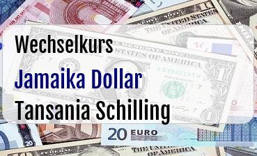 Jamaika Dollar in Tansania Schilling