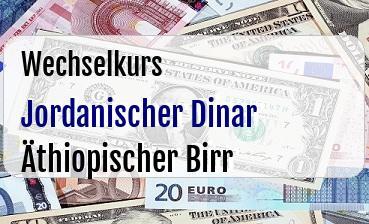 Jordanischer Dinar in Äthiopischer Birr
