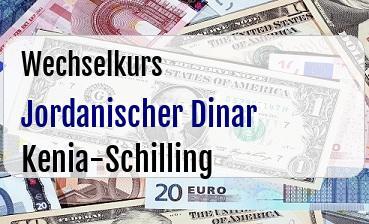 Jordanischer Dinar in Kenia-Schilling