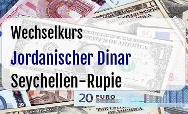 Jordanischer Dinar in Seychellen-Rupie