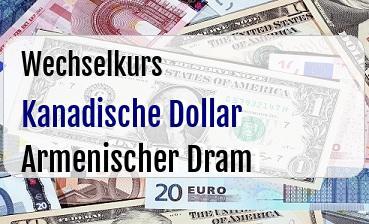 Kanadische Dollar in Armenischer Dram