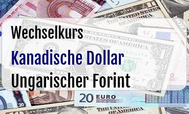 Kanadische Dollar in Ungarischer Forint