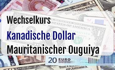 Kanadische Dollar in Mauritanischer Ouguiya