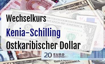 Kenia-Schilling in Ostkaribischer Dollar