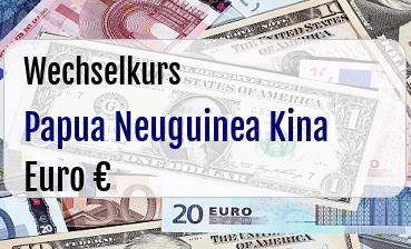 Papua Neuguinea Kina in Euro