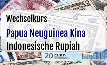 Papua Neuguinea Kina in Indonesische Rupiah