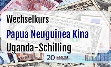 Papua Neuguinea Kina in Uganda-Schilling