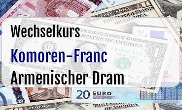 Komoren-Franc in Armenischer Dram