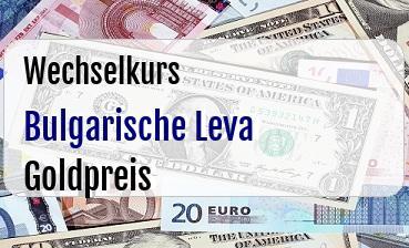 Bulgarische Leva in Goldpreis