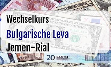 Bulgarische Leva in Jemen-Rial