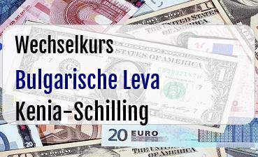 Bulgarische Leva in Kenia-Schilling