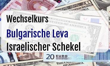 Bulgarische Leva in Israelischer Schekel