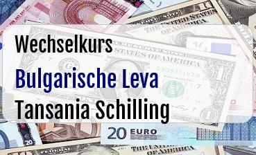 Bulgarische Leva in Tansania Schilling