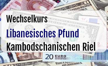 Libanesisches Pfund in Kambodschanischen Riel