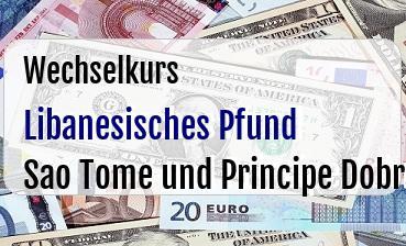 Libanesisches Pfund in Sao Tome und Principe Dobra