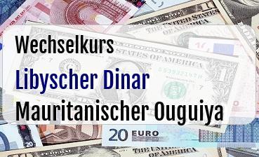 Libyscher Dinar in Mauritanischer Ouguiya