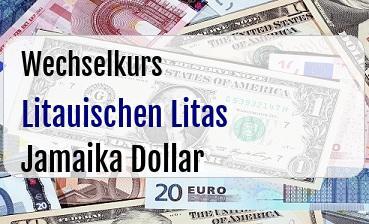 Litauischen Litas in Jamaika Dollar