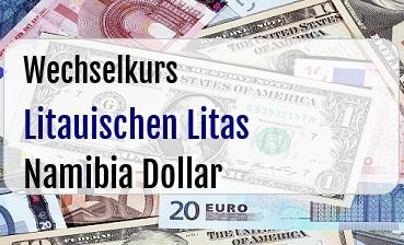 Litauischen Litas in Namibia Dollar
