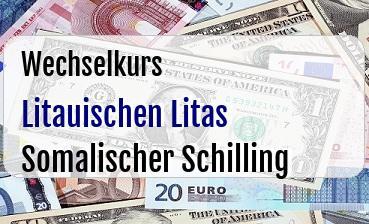 Litauischen Litas in Somalischer Schilling