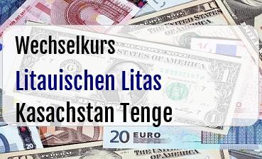 Litauischen Litas in Kasachstan Tenge