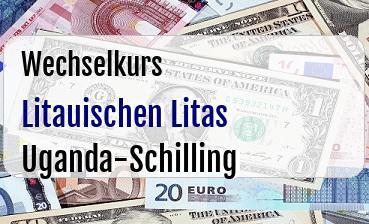 Litauischen Litas in Uganda-Schilling