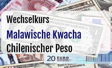 Malawische Kwacha in Chilenischer Peso