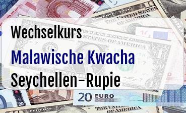 Malawische Kwacha in Seychellen-Rupie