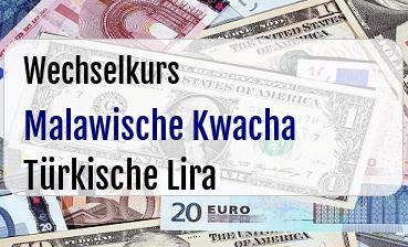 Malawische Kwacha in Türkische Lira