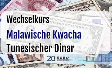 Malawische Kwacha in Tunesischer Dinar