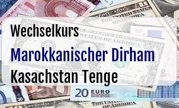 Marokkanischer Dirham in Kasachstan Tenge