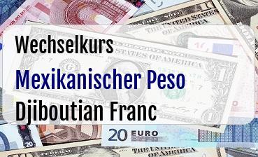 Mexikanischer Peso in Djiboutian Franc