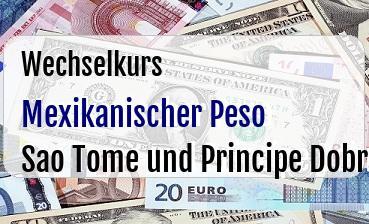 Mexikanischer Peso in Sao Tome und Principe Dobra