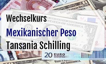Mexikanischer Peso in Tansania Schilling