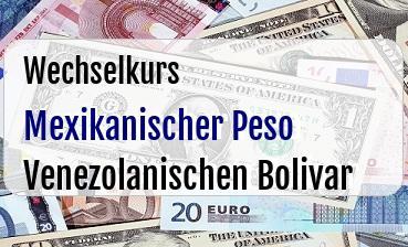 Mexikanischer Peso in Venezolanischen Bolivar
