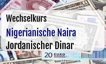 Nigerianische Naira in Jordanischer Dinar