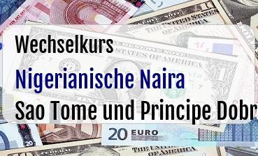 Nigerianische Naira in Sao Tome und Principe Dobra