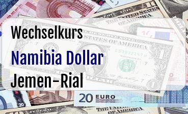 Namibia Dollar in Jemen-Rial