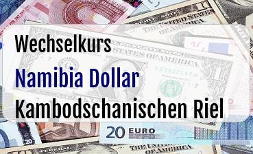 Namibia Dollar in Kambodschanischen Riel
