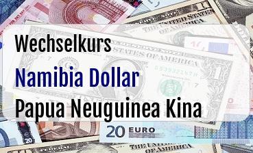 Namibia Dollar in Papua Neuguinea Kina