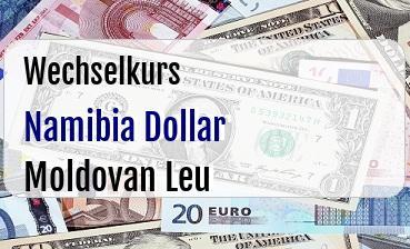 Namibia Dollar in Moldovan Leu