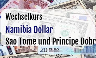 Namibia Dollar in Sao Tome und Principe Dobra