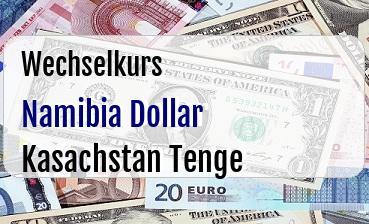 Namibia Dollar in Kasachstan Tenge