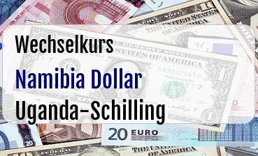 Namibia Dollar in Uganda-Schilling