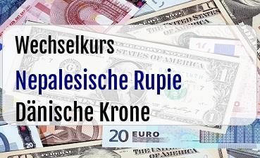Nepalesische Rupie in Dänische Krone